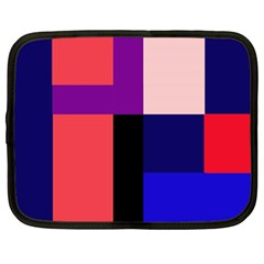 Colorful abstraction Netbook Case (XL)