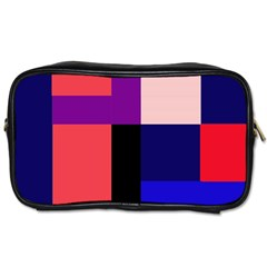 Colorful abstraction Toiletries Bags