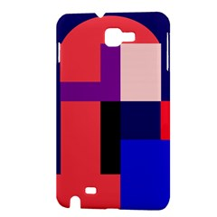 Colorful abstraction Samsung Galaxy Note 1 Hardshell Case