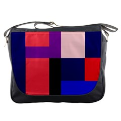Colorful abstraction Messenger Bags