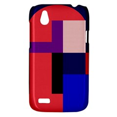 Colorful abstraction HTC Desire V (T328W) Hardshell Case