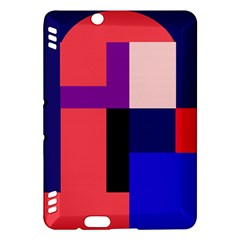 Colorful abstraction Kindle Fire HDX Hardshell Case