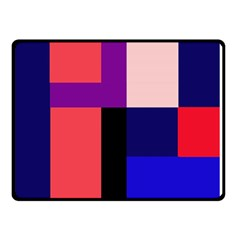Colorful abstraction Double Sided Fleece Blanket (Small)