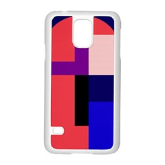 Colorful abstraction Samsung Galaxy S5 Case (White)