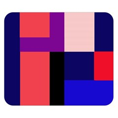Colorful abstraction Double Sided Flano Blanket (Small)