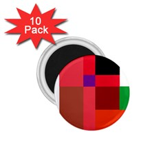 Colorful abstraction 1.75  Magnets (10 pack)