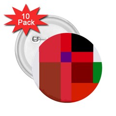 Colorful abstraction 2.25  Buttons (10 pack)
