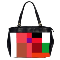 Colorful abstraction Office Handbags (2 Sides)