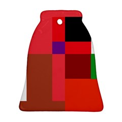 Colorful abstraction Bell Ornament (2 Sides)