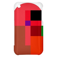 Colorful abstraction Apple iPhone 3G/3GS Hardshell Case