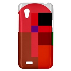 Colorful abstraction HTC Desire VT (T328T) Hardshell Case