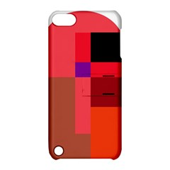 Colorful abstraction Apple iPod Touch 5 Hardshell Case with Stand