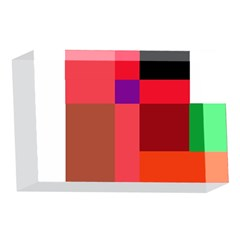 Colorful abstraction 4 x 6  Acrylic Photo Blocks