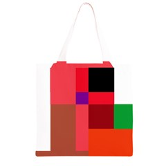 Colorful abstraction Grocery Light Tote Bag