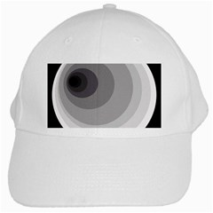 Gray abstraction White Cap