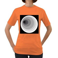 Gray abstraction Women s Dark T-Shirt