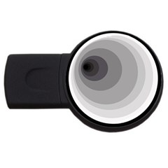 Gray abstraction USB Flash Drive Round (4 GB)