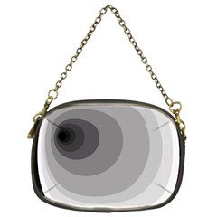Gray abstraction Chain Purses (One Side)