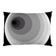 Gray abstraction Pillow Case