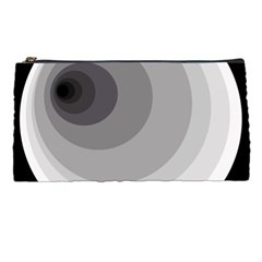 Gray abstraction Pencil Cases