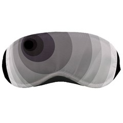 Gray abstraction Sleeping Masks