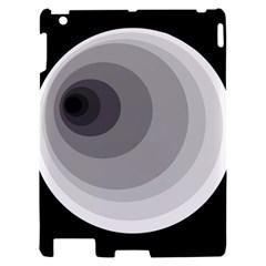 Gray abstraction Apple iPad 2 Hardshell Case