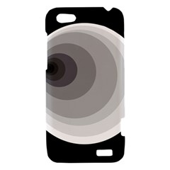 Gray abstraction HTC One V Hardshell Case