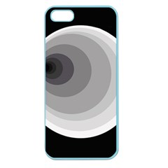Gray abstraction Apple Seamless iPhone 5 Case (Color)