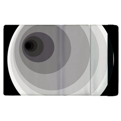 Gray abstraction Apple iPad 3/4 Flip Case