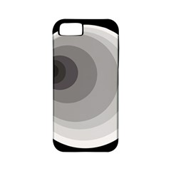 Gray abstraction Apple iPhone 5 Classic Hardshell Case (PC+Silicone)
