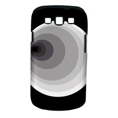 Gray abstraction Samsung Galaxy S III Classic Hardshell Case (PC+Silicone)