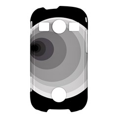 Gray abstraction Samsung Galaxy S7710 Xcover 2 Hardshell Case