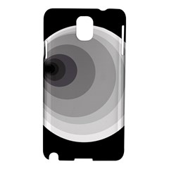 Gray abstraction Samsung Galaxy Note 3 N9005 Hardshell Case