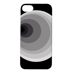 Gray abstraction Apple iPhone 5S/ SE Hardshell Case
