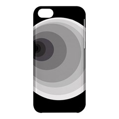 Gray abstraction Apple iPhone 5C Hardshell Case