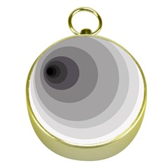 Gray abstraction Gold Compasses