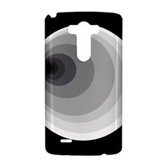 Gray abstraction LG G3 Hardshell Case