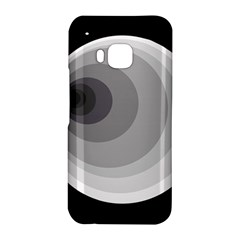 Gray abstraction HTC One M9 Hardshell Case