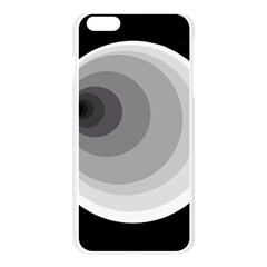 Gray abstraction Apple Seamless iPhone 6 Plus/6S Plus Case (Transparent)