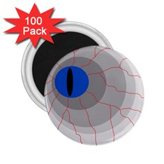 Blue eye 2.25  Magnets (100 pack)