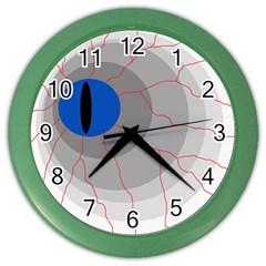 Blue eye Color Wall Clocks