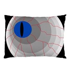 Blue eye Pillow Case (Two Sides)