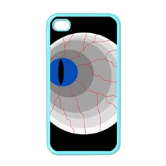 Blue eye Apple iPhone 4 Case (Color)