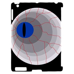 Blue eye Apple iPad 2 Hardshell Case (Compatible with Smart Cover)