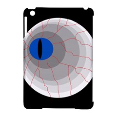 Blue eye Apple iPad Mini Hardshell Case (Compatible with Smart Cover)