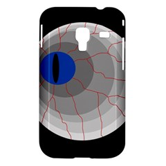 Blue eye Samsung Galaxy Ace Plus S7500 Hardshell Case