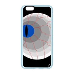 Blue eye Apple Seamless iPhone 6/6S Case (Color)