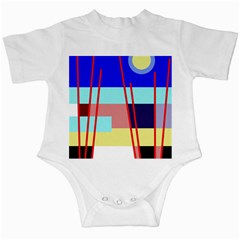 Abstract landscape Infant Creepers