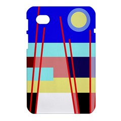 Abstract landscape Samsung Galaxy Tab 7  P1000 Hardshell Case