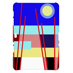 Abstract landscape Samsung Galaxy Tab 10.1  P7500 Hardshell Case
